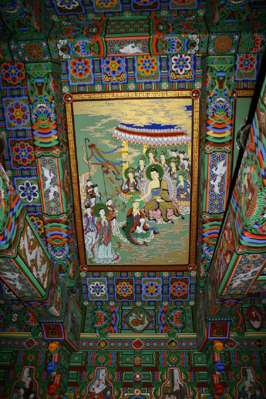 Buddhist Painting, Dancheong